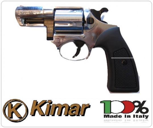"Pistola Kimar Revolver Ruger Power 2"" Nickel 380 a Salve Art.311.000"