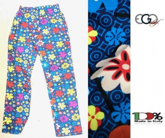 Pantalone Pantaloni Pants Hose Coulisse Cuoco Chef Pizzaiolo Professionale Ego Chef Italia Color Daisy CHEF PANTS БРЮКИ Art. 3502150A