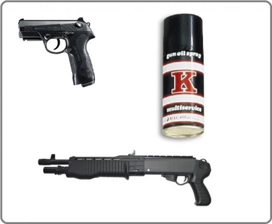 Olio per Armi Lubrifica e Pulisce Lunghe e Corte Pistole e Fucile Professionale Vega Holster Italia Art.OE80