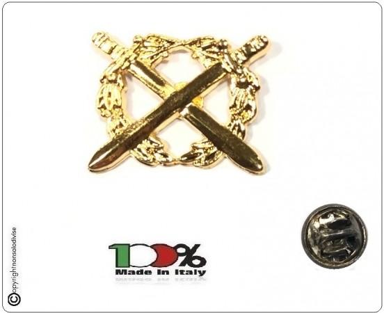 Pins Distintivo Spilla Encomio Solenne Oro Polizia di Stato Art.EN-03
