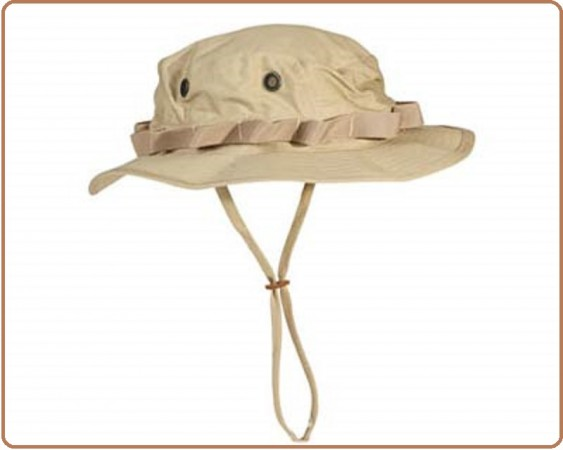 Cappello Berretto Mimetico Jungle Desert Sabbia Tan  Art.SBB-67