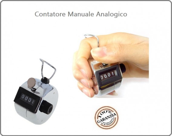 Conta Persone Conta Colpi  Contatore  Metal Hand Tally Conta Entrate Manuale Discoteche Hostess Convegni Art.469460