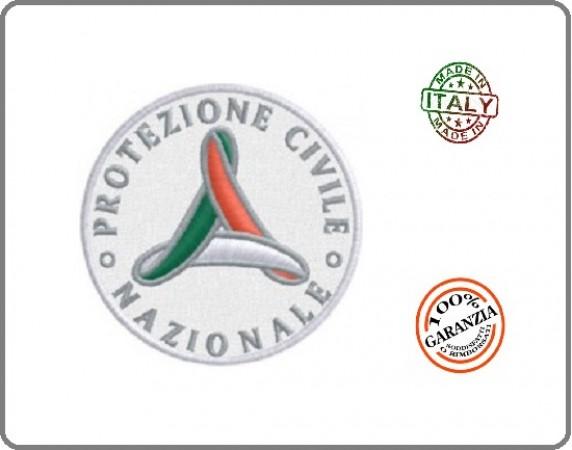 Patch Toppa Protezione Civile Mini Ricamato cm 4  Art.EU1170