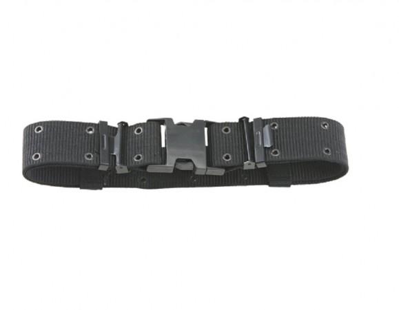 Cinturone Sgancio Rapido Militare Nero Cordura Rinforzata H5 Carabinieri Polizia Vigilanza Art. 241235-N