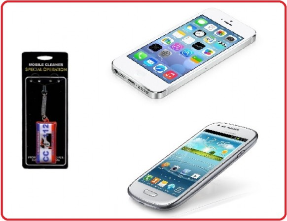 Laccetto per Pulizia dello Schermo Telefono Samsung IPone 5 4 Motorola Nokia Android Carabinieri CC 112 Art.Eumar.CC