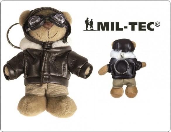 Portachiavi Porta Chiavi Orsetto Pilota Teddy Pilot Mil Tec Art.1590600