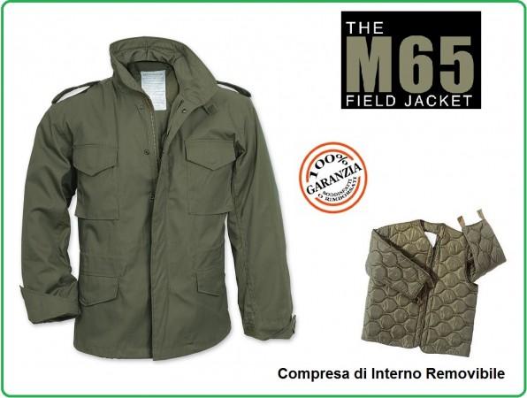 Giacca Giubbino Giubbotto Militare Field Jakets M65 Verde Vietnam Vinatge Caccia Soft Air Art.129476