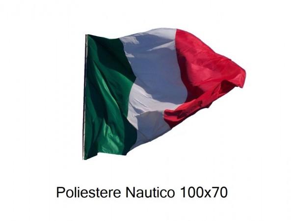 Bandiera Professionale Italia Poliestere Nautico da Esterno cm 100x70 Art.NSD-100x70