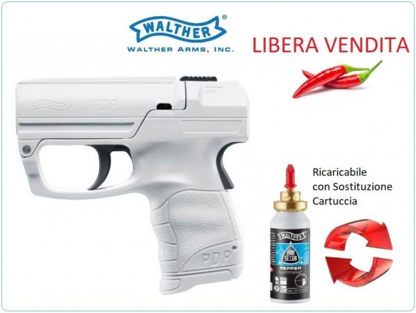 PDP Pistola Spray al Peperoncino RICARICABILE Walther Difesa Personale Libera Venita e Libero Trasporto Art.UM-2-2052-1