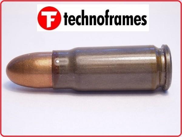 Replica Di Cartuccia Dummy 7.63x25 Libera Vendita Technoframes Art.TFR1S-072