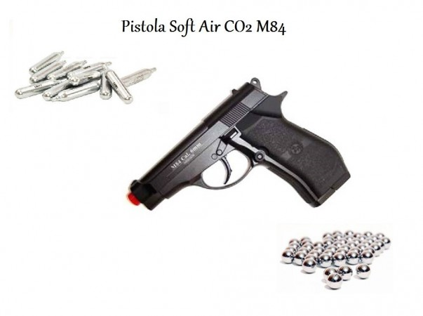 Pistola Soft Air Co2 Full Metal Professionale BB 6 mm ULTIMO PEZZO  Art. 301
