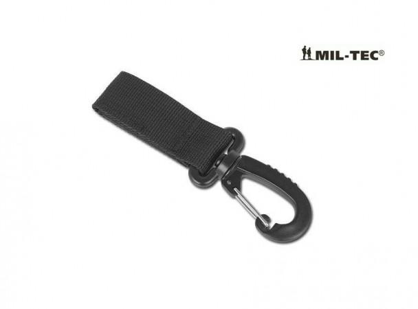 Moschettone 50 mm Nero per Cinturone Operativo Militare Carabinieri Art. 13505002