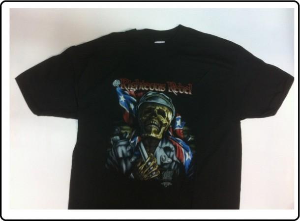 T-shirt Maglietta Righteous Rebel Made in USA Art.133383