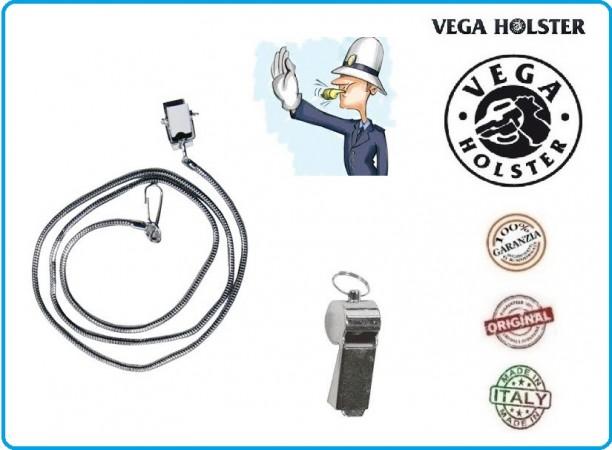 Catenella per Fischietti Utile per Trovare Subito il Fischietto  Polizia Locale Vigili Urbani Vega Holster Italia  Art.OE39