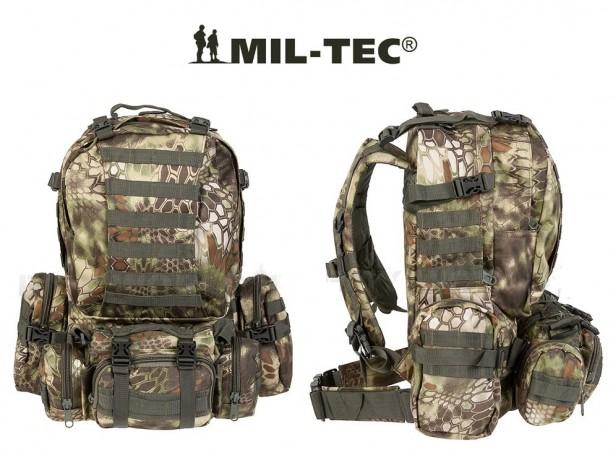 Zaino Assalto Militare 36 Litri Modulari Defense Pack con Sistema M.O.L.L.E. Mandra Wood Mil-Tec Art. 14045084