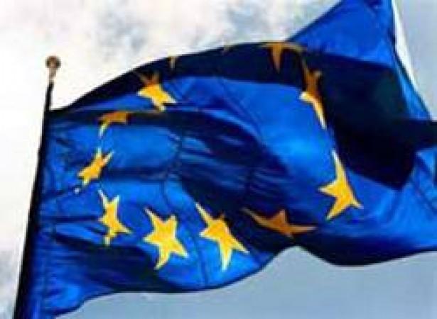 Bandiera Professionale Europa Poliestere Nautico da Esterno cm 100x150 Art.NSD.E.100x150