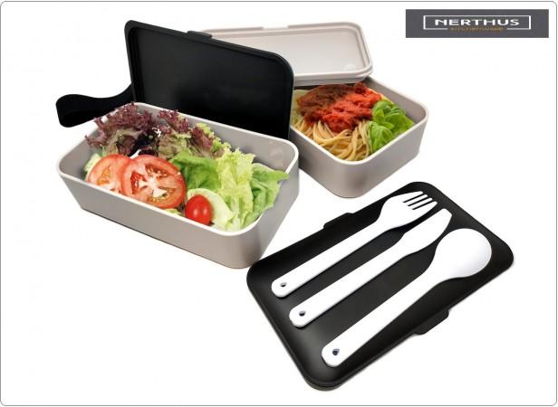 Lunch Box Maped Porta Vivande Lavoro e Tempo Libero NERTHUS Art.FIH415