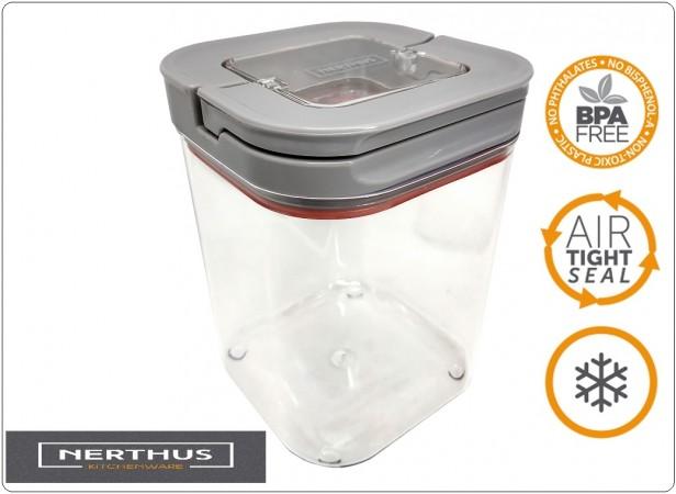 Contenitore Stagno per Alimenti Pasta Riso Fagioli Professionale 1100 ml NERTHUS Art.FIH444