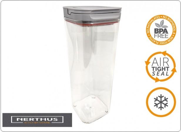Contenitore Stagno per Alimenti Pasta Riso Fagioli Professionale 2,3 ml NERTHUS Art.FIH446