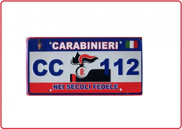 Targa Carabinieri in Alluminio da Collezione LIBERA VENDITA Art.NSD-CC-T