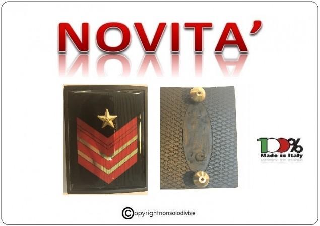 Grati Metallo Nuovo Tipo Appuntato Scelto Carica Speciale Carabinieri Art.NSD-LU7