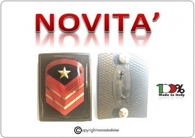 Grati Metallo Nuovo Tipo Caporal Maggiore Scelto Carica Speciale Esercito Italiano Art.NSD-LU8