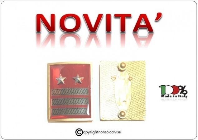 Grati Metallo Nuovo Tipo Guardia di Finanza Esercito Italiano Aeronautica Marina Militare Carica Speciale Luogotenente Art.NSD-LU2
