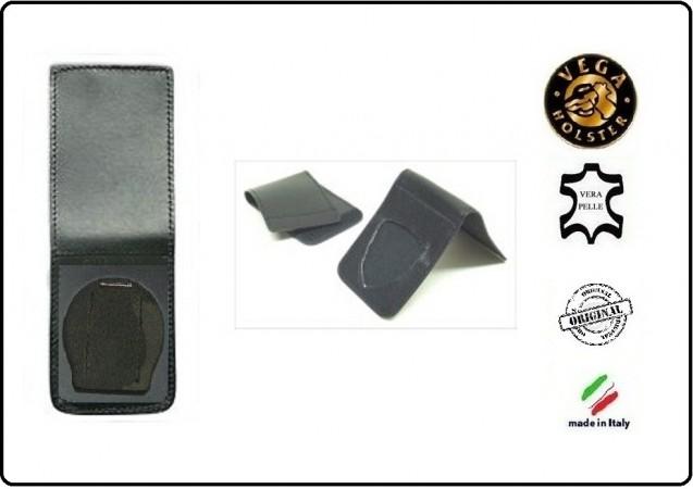 Patella pelle + Fregio per portafogli 1WE Carabinieri Operativi Vega Holster Italia Art.1WH04