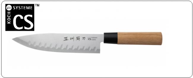 Coltello Giapponese  Gyuto con alveole cm. 20 Serie Classic ANAAKI KNIFE Art.070854