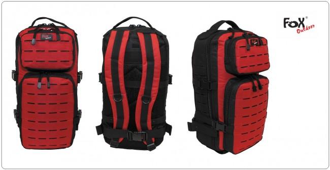 Zaino tattico intervento rosso nero m o l l e mod us assult i 36 litri 118 soccorso c r i mfh - Zalando tende interni ...