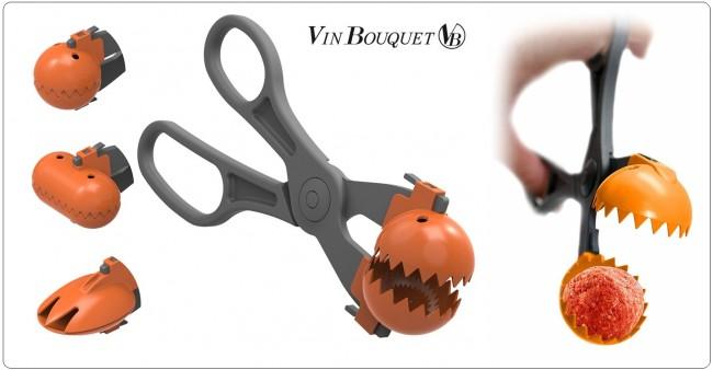 La Croquettere Pinza Professionale per Polpette Sushi Insalata Vin Bouquet FIH 167  Art. FIH167