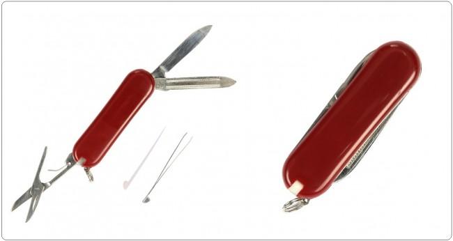 Coltellino Svizzero Varia Accessori  Pocket knife 3 in 1 VaNos  Art. 457433