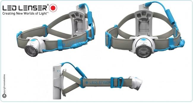 Torcia Frontale Ricaricabile 600 Lumen 150 Metri  LED LENSER NEO10R Art.500917