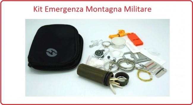 Kit Survival Mini Special Operation  Sopravvivenza Emergenza Art.SO1