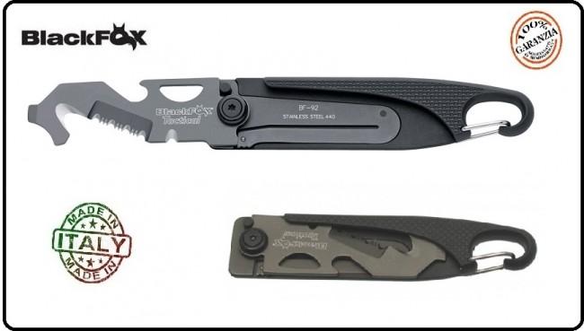 Coltello Rescue Model BlackFox Tactical Serramanico Art.BF-92