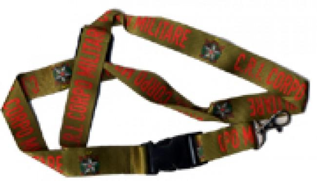 Portachiave da collo Croce Rossa MilitareArt.05044