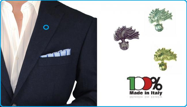 Pins Spilla da Bavero Giacca Fiamma Carabinieri CC Prodotto Ufficiale  Art.C11-C12-C13