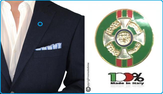 Pins Spilla da Bavero Giacca Cavaliere Ufficiale Della Repubblica Italiana cm 1.60 Art.09624-1