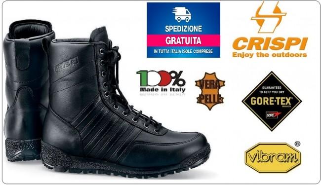 Anfibio Scarponcino Stivale Stivaletto S.W.A.T. HTG CRISPI GORE-TEX®  Militari Esercito Corpi Speciali Art.4515999