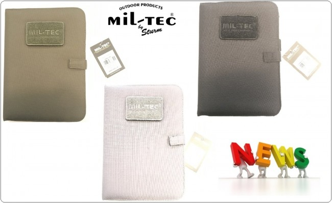 Porta Notebook Militare Tattico Medio Nero Verde Grigio Mil-Tec® Art.15985002