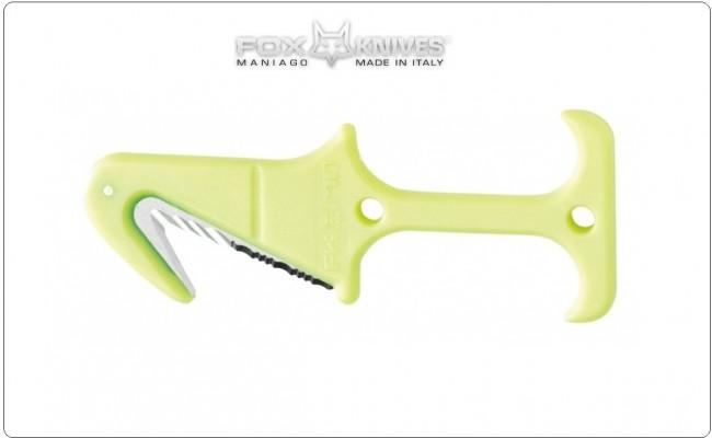 Taglia Cinture Giallo Fluò Emergenza Stradale Soccorritori 118 Protezione Civile Vigili del Fuoco Fox Rescue Tool Airborne Art. FX-640/22EY