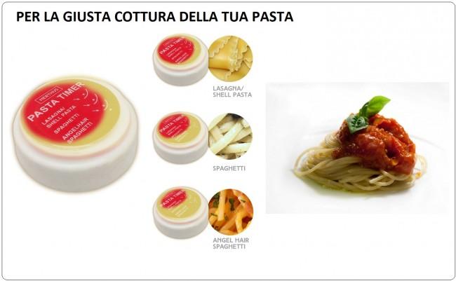 Timer per Pasta ad Immersione diventi un Professionista della Pasta al Dente NERTHUS Art.FIH240