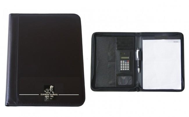 Cartella Pattuglia Porta Blocco Portadocumenti GPG IPS GPG Guardie Giurate Gladiatore  Verbali Pattuglia Prodotto Ufficiale Art.10865-GLA