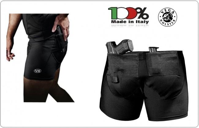 Boxer Mutande Con Fondina Porta Pistola Vega UNDER BOX  Incorporata Vega Holster Italia Art.UWH402