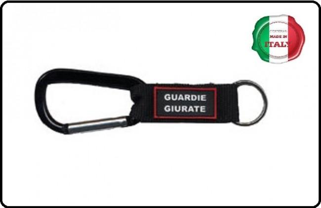 Portachiavi Porta Chiavi a Moschettone Guardie Giurate Art.95029GG