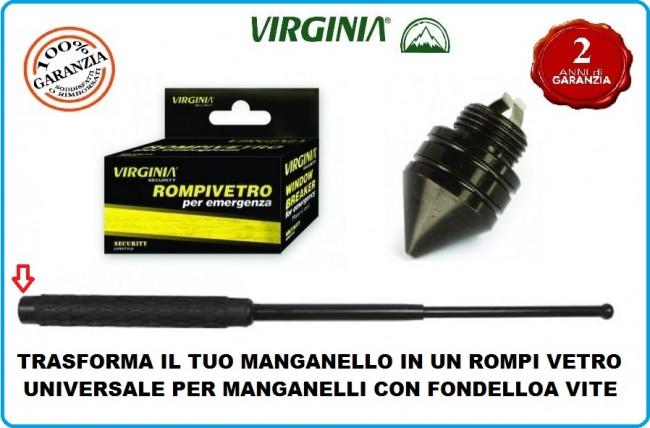 Punta Rompivetro Emergenza per Bastoni Manganelli Retrattili Universale VIRGINIA Art.VA0209