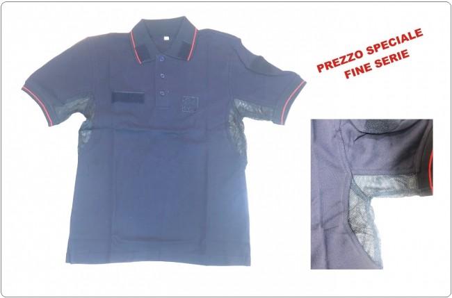 Polo Cotone Ordine Pubblico Carabinieri A.N.C. Ass. Nazionale Manica Corta FINE SERIE  Art.CC-OPX