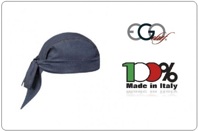 Bandana Sagomata Professionale Jeans Ego Chef Italia Art.7002070F