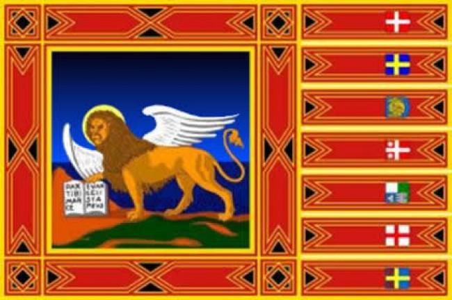 Bandiera Veneto  Poliestere Nautico da Esterno cm 150x225 Art.NSD.V.150x225