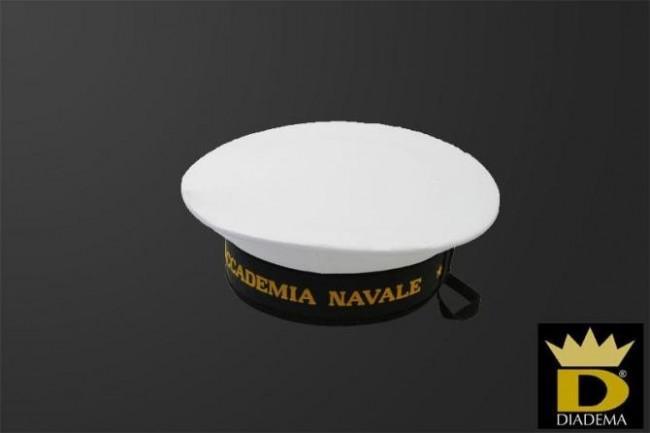 Berretto Copricapo da Cadetto Accademia Navale della Marina Militare Diadema  Italia Art.1PIZZA 03 5301965f33e0